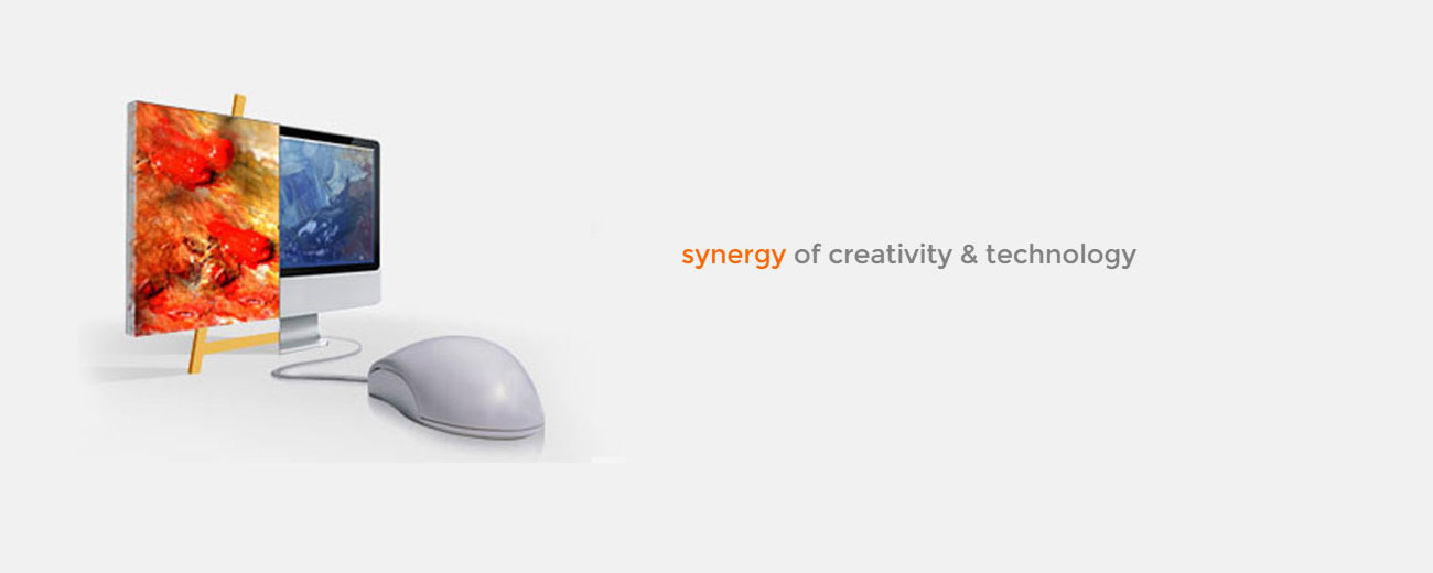 Synergy of creativity & technology
